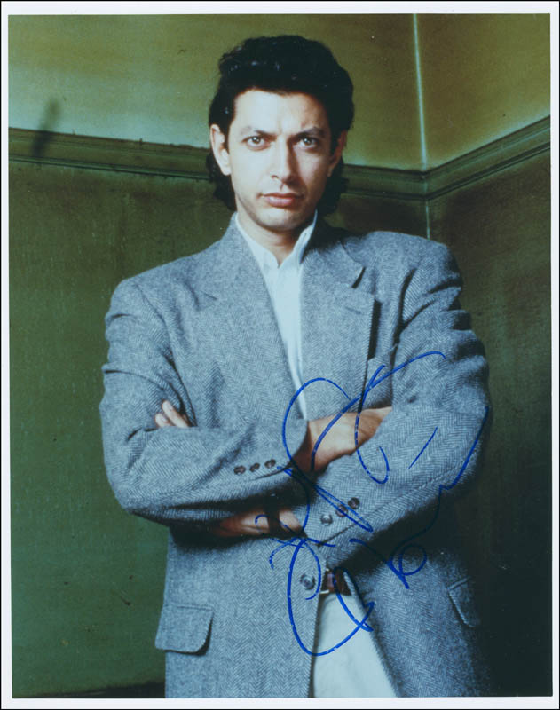 Image 1 for Jeff Goldblum - Autographed Signed Photograph - HFSID 298697