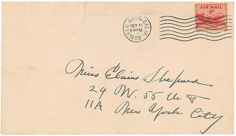 Image 4 for Gary Cooper - Autograph Letter Signed 10/06/1955 - HFSID 298722