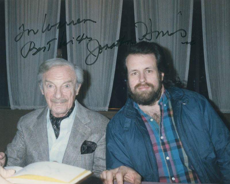 Image 1 for Jonathan Harris - Autographed Inscribed Photograph - HFSID 298792