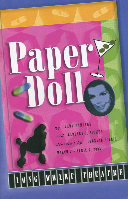 Image 3 for Paper Doll Play Cast - Show Bill Signed Circa 2006 co-signed by: Dixie Carter, Joanne Genelle - HFSID 298802