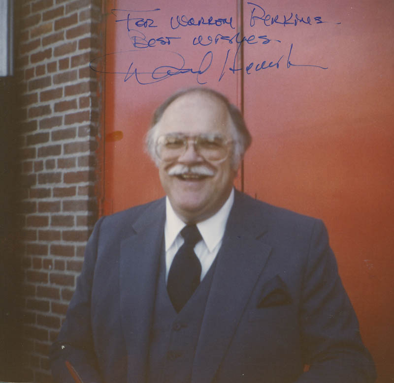 Image 1 for David Huddleston - Autographed Inscribed Photograph - HFSID 298904