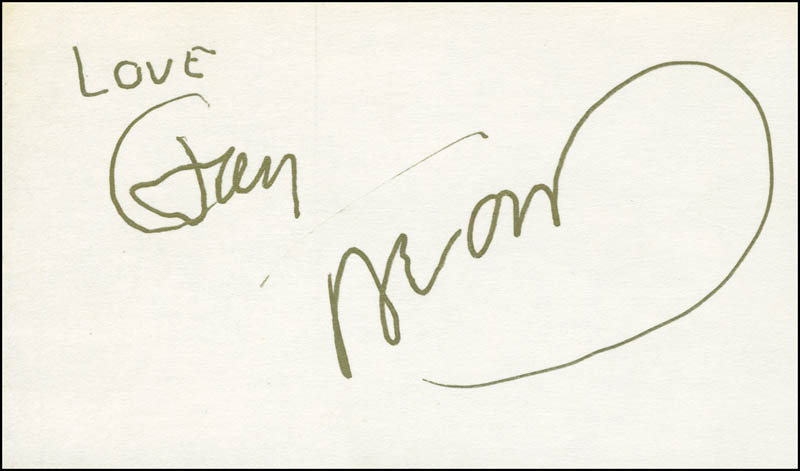 Image 1 for Jan & Dean - Autograph Sentiment Signed co-signed by: Jan & Dean (Jan Berry), Jan & Dean (Dean Torrence) - HFSID 298925