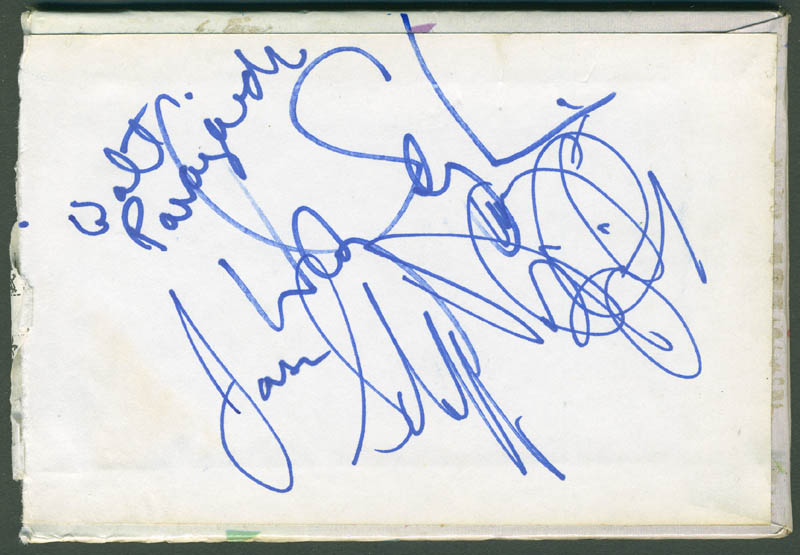Image 1 for Chicago - Autograph with co-signers - HFSID 298950