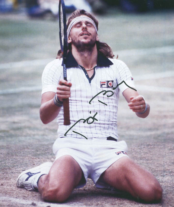 Image 1 for Bjorn Borg - Autographed Signed Photograph - HFSID 298994