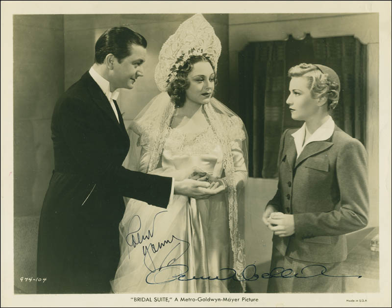 Image 1 for Bridal Suite Movie Cast - Autographed Signed Photograph co-signed by: Robert Young, Annabella - HFSID 299085