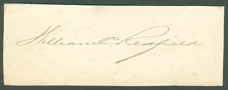 Image 1 for William C. Redfield - Autograph - HFSID 299154
