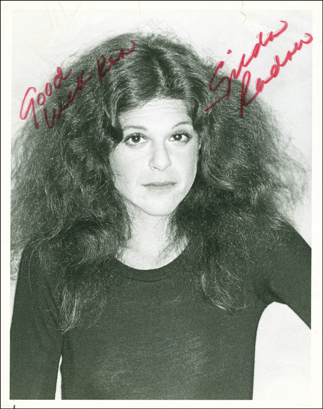 Image 1 for Gilda Radner - Autographed Signed Photograph - HFSID 299180
