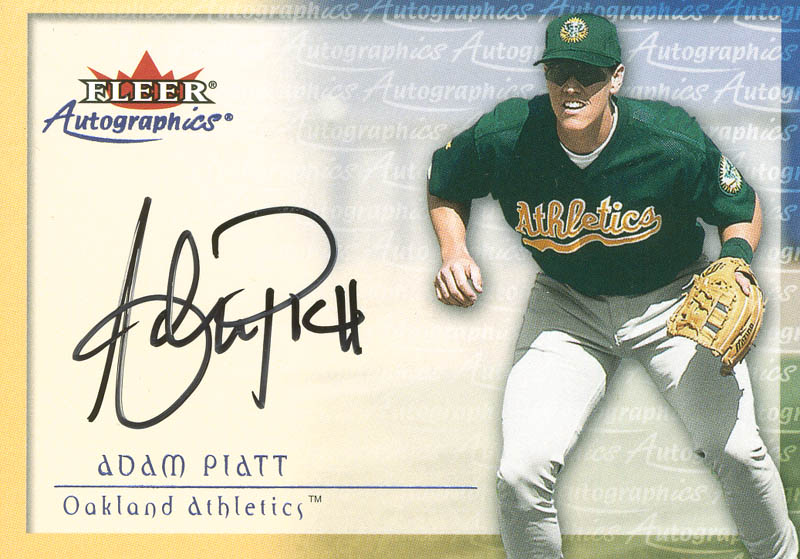 Image 1 for Adam Piatt - Trading/Sports Card Signed - HFSID 299210