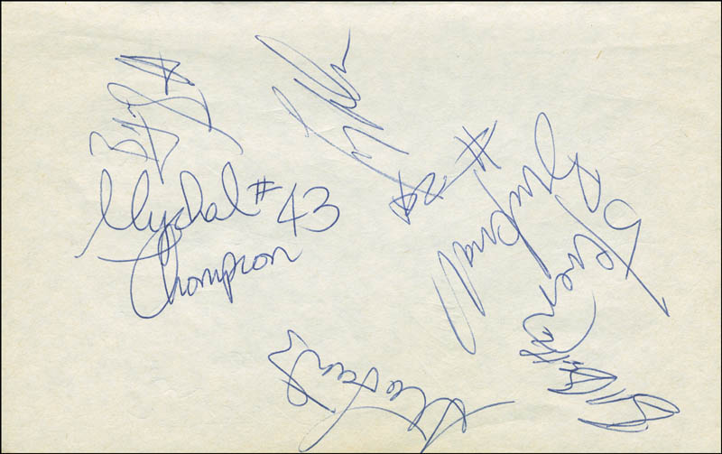 Image 1 for The Los Angeles Lakers - Autograph with co-signers - HFSID 299227