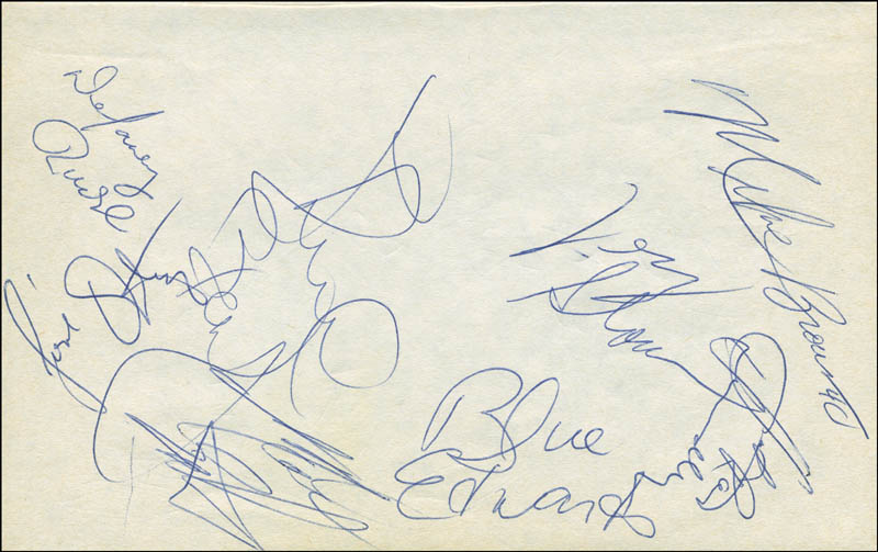 Image 3 for The Los Angeles Lakers - Autograph with co-signers - HFSID 299227