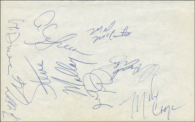 Image 5 for The Los Angeles Lakers - Autograph with co-signers - HFSID 299227