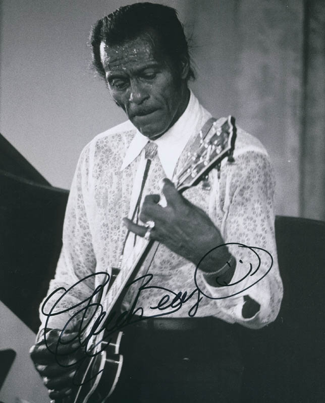Image 1 for Chuck Berry - Autographed Signed Photograph - HFSID 299233