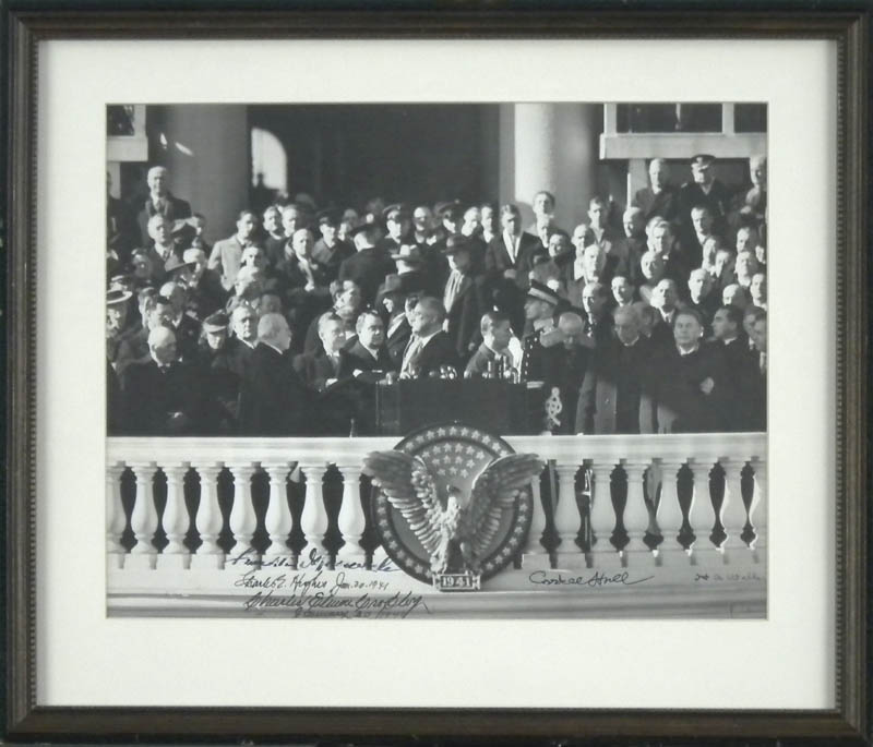 Image 1 for President Franklin D. Roosevelt - Autographed Signed Photograph 01/20/1941 with co-signers - HFSID 299290