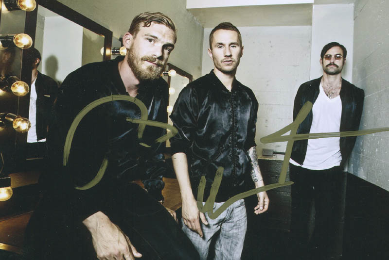 Image 1 for Miike Snow - Autographed Signed Photograph with co-signers - HFSID 299693