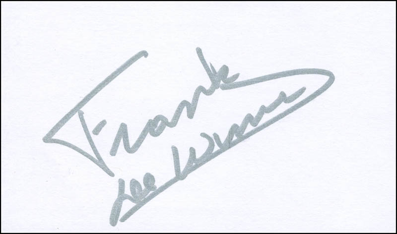Image 1 for Brigadier General Frank De Winne - Autograph - HFSID 299741