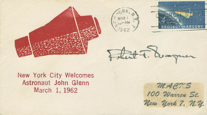 Image 1 for Robert F. Wagner Jr. - Commemorative Envelope Signed - HFSID 299746