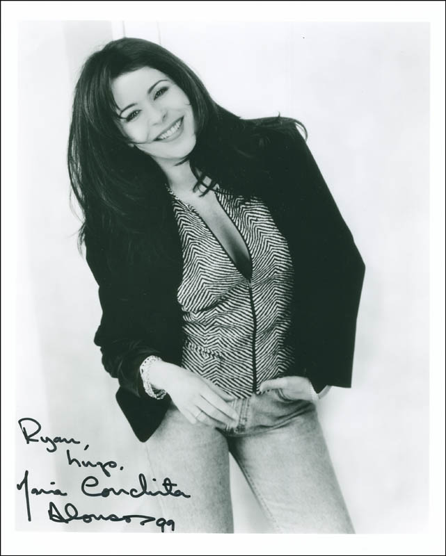 Image 1 for Maria Conchita Alonso - Autographed Inscribed Photograph - HFSID 299798