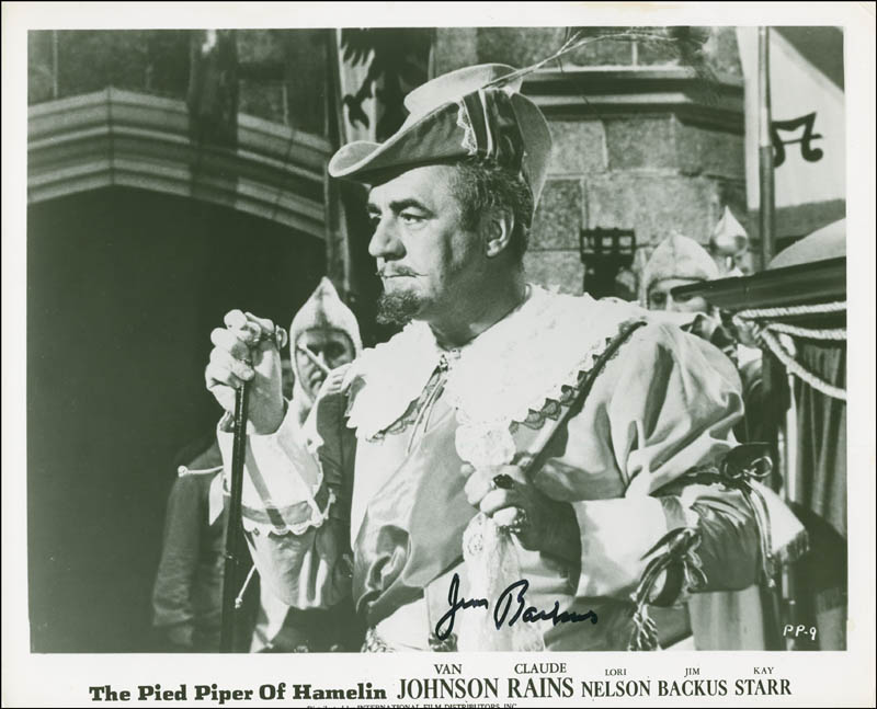 Image 1 for Jim Backus - Autographed Signed Photograph - HFSID 299900