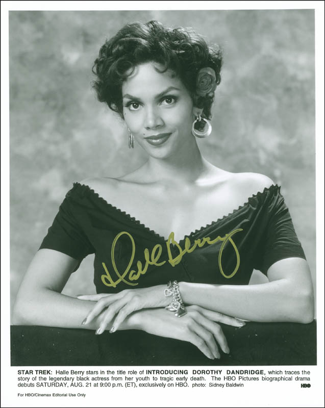 Image 1 for Halle Berry - Autographed Signed Photograph - HFSID 299908