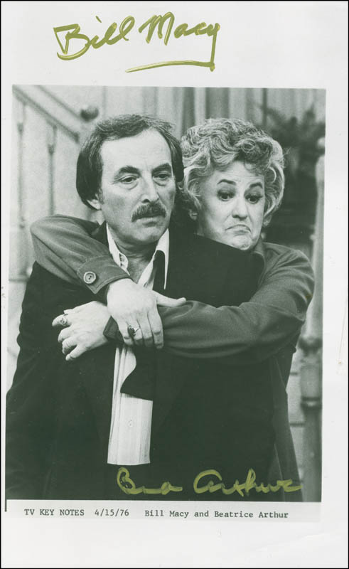Image 1 for Maude TV Cast - Autographed Signed Photograph co-signed by: Beatrice 'Bea' Arthur, Bill Macy - HFSID 299915
