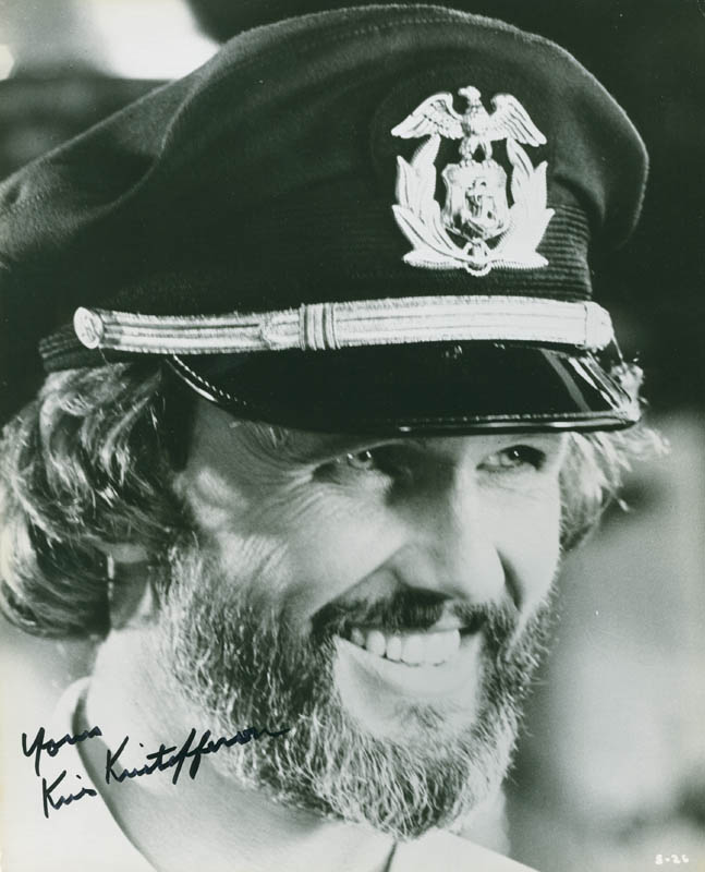 Image 1 for Kris Kristofferson - Autographed Signed Photograph - HFSID 299924