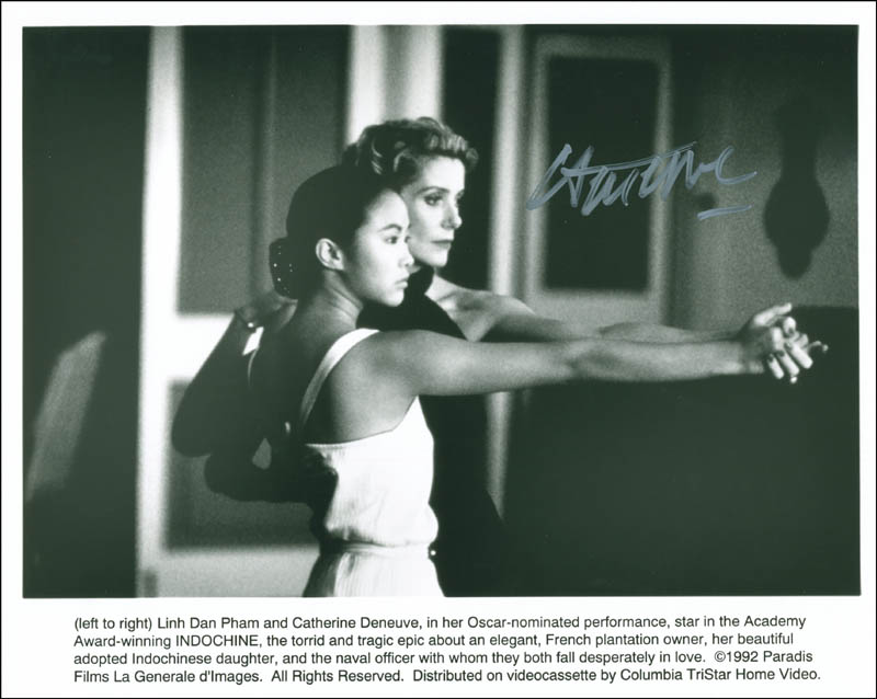 Image 1 for Catherine Deneuve - Autographed Signed Photograph - HFSID 299968