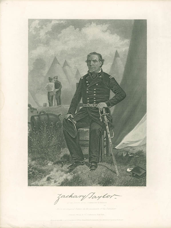 Image 1 for President Zachary Taylor - Engraving Unsigned - HFSID 3000331