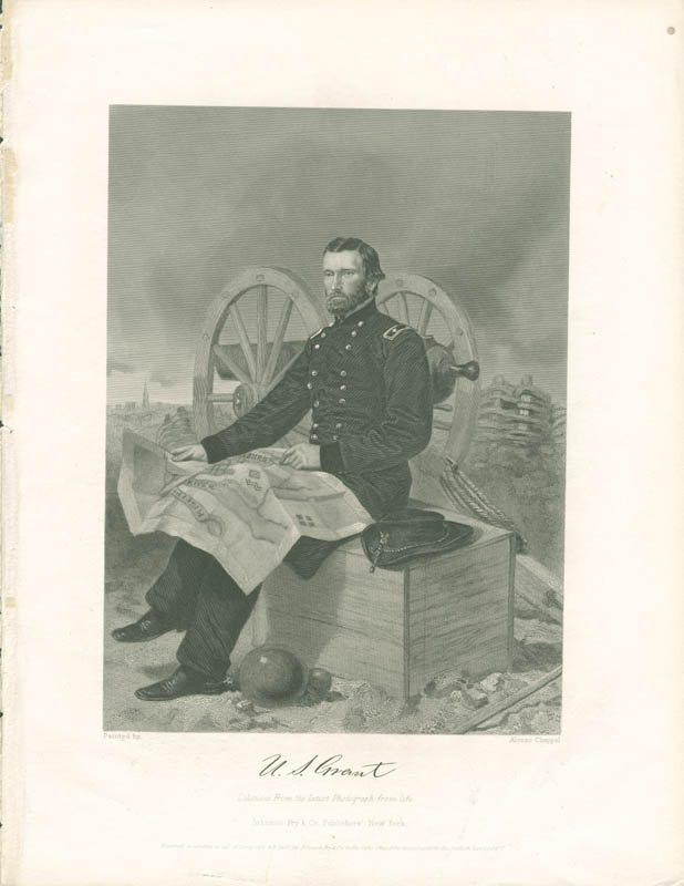 Image 1 for President Ulysses S. Grant - Engraving Unsigned - HFSID 3000524