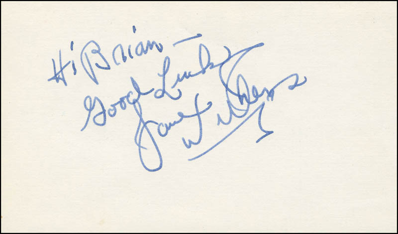 Image 1 for Jane Withers - Autograph Note Signed - HFSID 300139