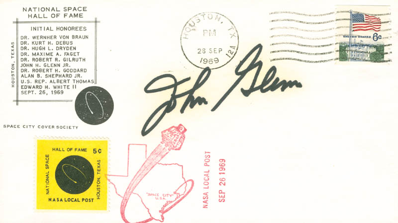 Image 1 for John Glenn - Special Cover Signed - HFSID 30014