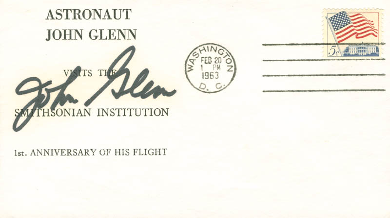 Image 1 for John Glenn - Commemorative Envelope Signed - HFSID 30015