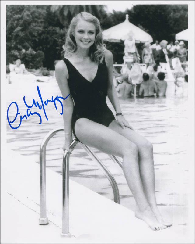 Cindy Morgan autograph