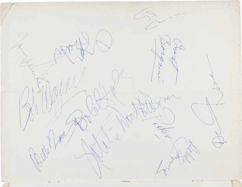 Image 1 for President Ronald Reagan - Program Signed with co-signers - HFSID 300233