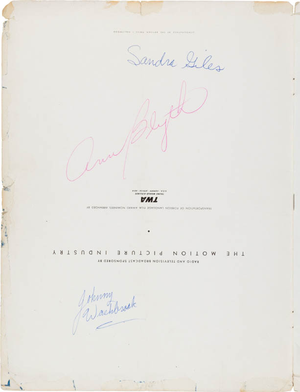 Image 5 for President Ronald Reagan - Program Signed with co-signers - HFSID 300233