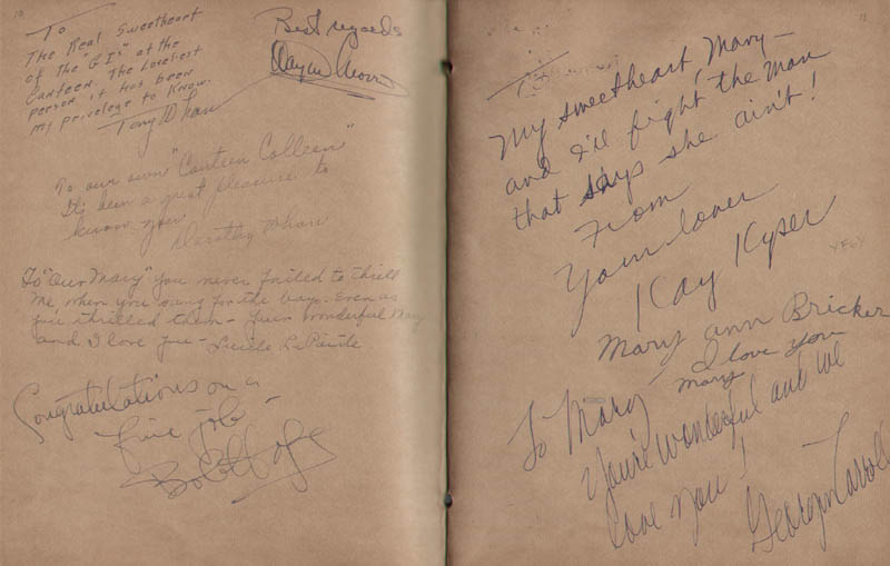 Image 7 for Hollywood Canteen - Book Signed with co-signers - HFSID 300234
