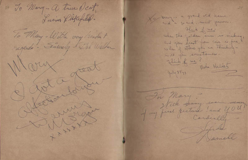 Image 15 for Hollywood Canteen - Book Signed with co-signers - HFSID 300234