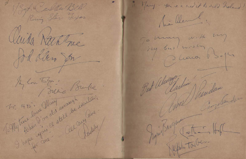 Image 16 for Hollywood Canteen - Book Signed with co-signers - HFSID 300234
