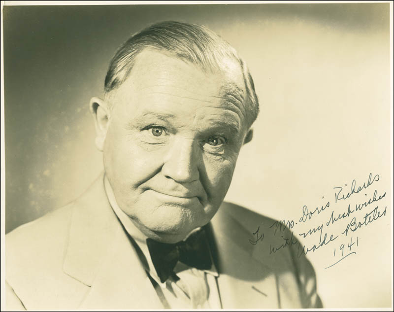 Image 1 for Wade Boteler - Autographed Inscribed Photograph 1941 - HFSID 300275