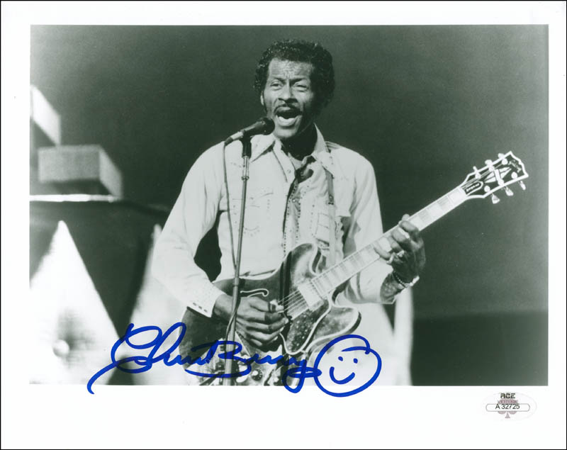 Image 1 for Chuck Berry - Autographed Signed Photograph - HFSID 300319
