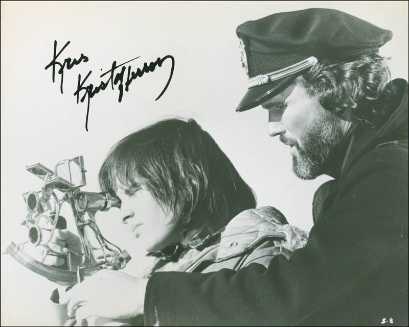 Image 1 for Kris Kristofferson - Autographed Signed Photograph - HFSID 300337