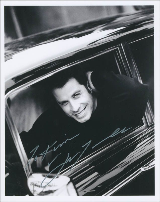 Image 1 for John Travolta - Autographed Inscribed Photograph - HFSID 300338
