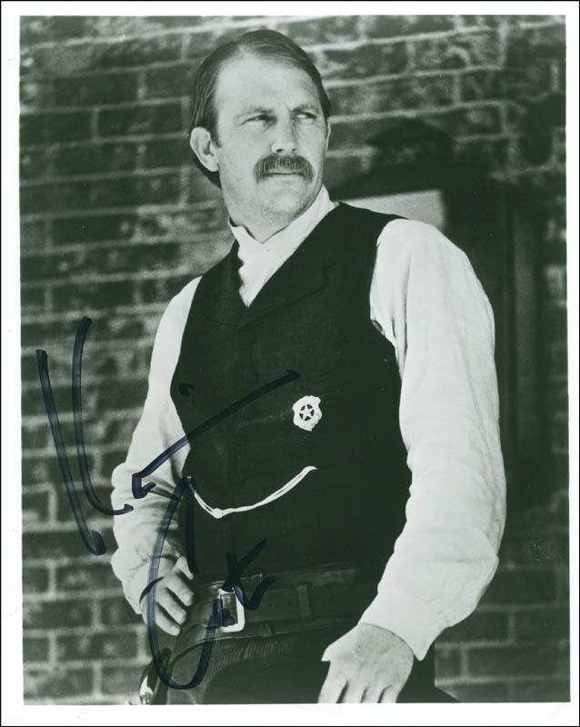 Image 1 for Kevin Costner - Autographed Signed Photograph - HFSID 300372