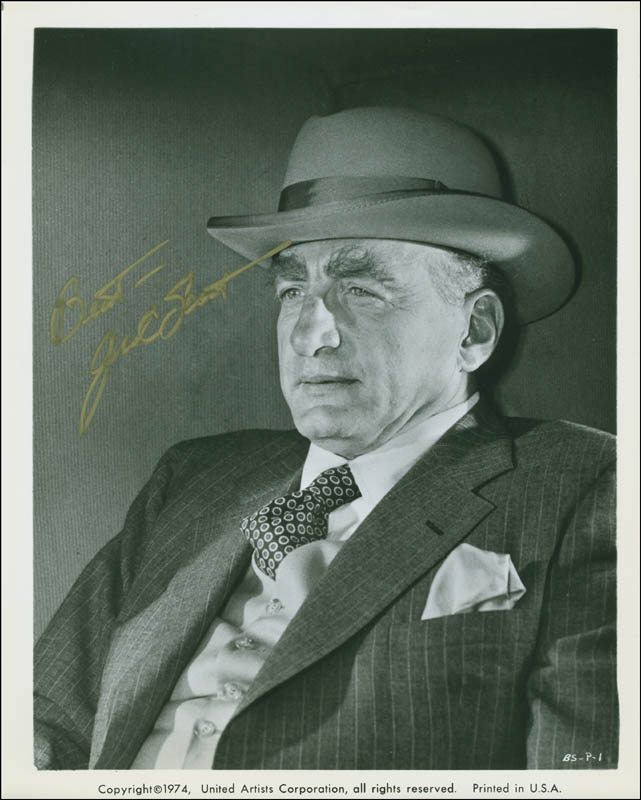 Image 1 for George C. Scott - Autographed Signed Photograph - HFSID 300373