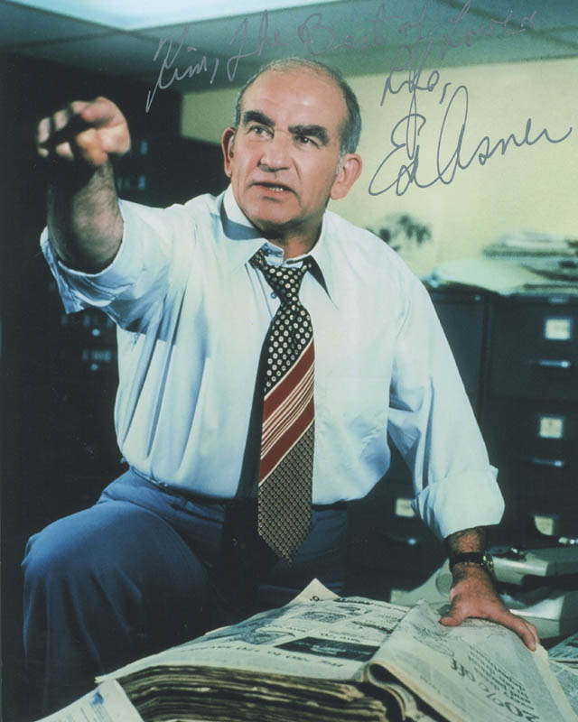 Image 1 for Ed Asner - Autographed Inscribed Photograph - HFSID 300386