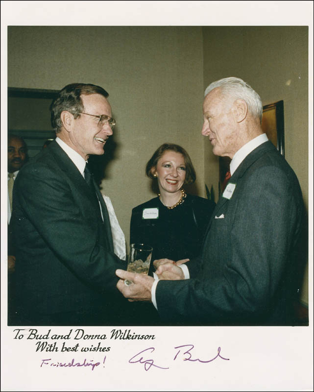 Image 1 for President George H.W. Bush - Autographed Inscribed Photograph - HFSID 300421