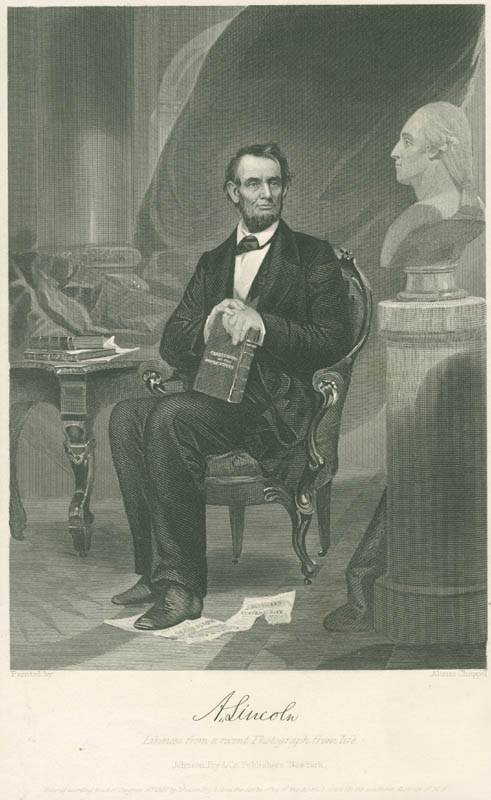 Image 1 for President Abraham Lincoln - Engraving Unsigned - HFSID 3005227