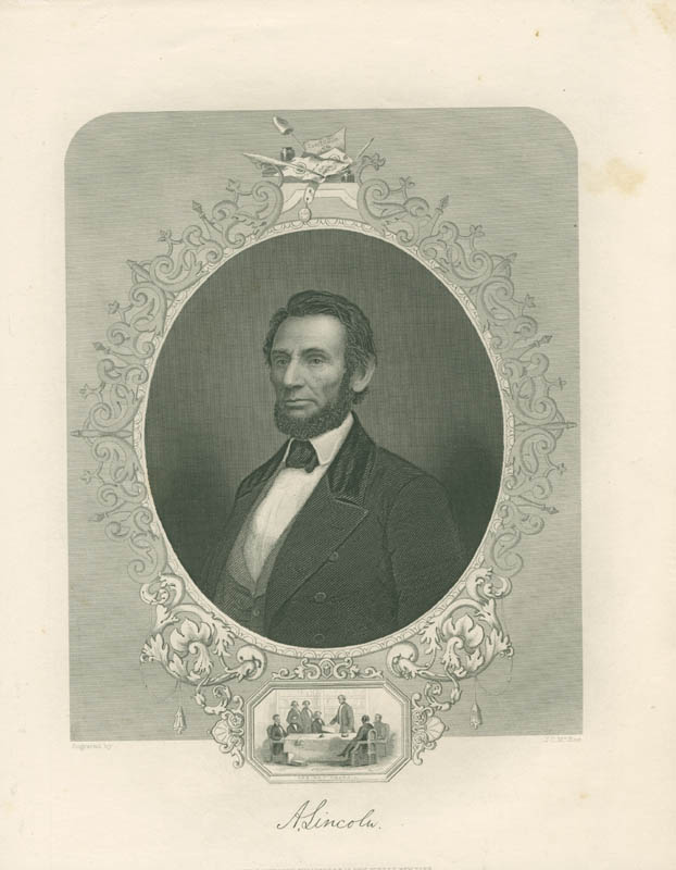 Image 1 for President Abraham Lincoln - Engraving Unsigned - HFSID 3005728