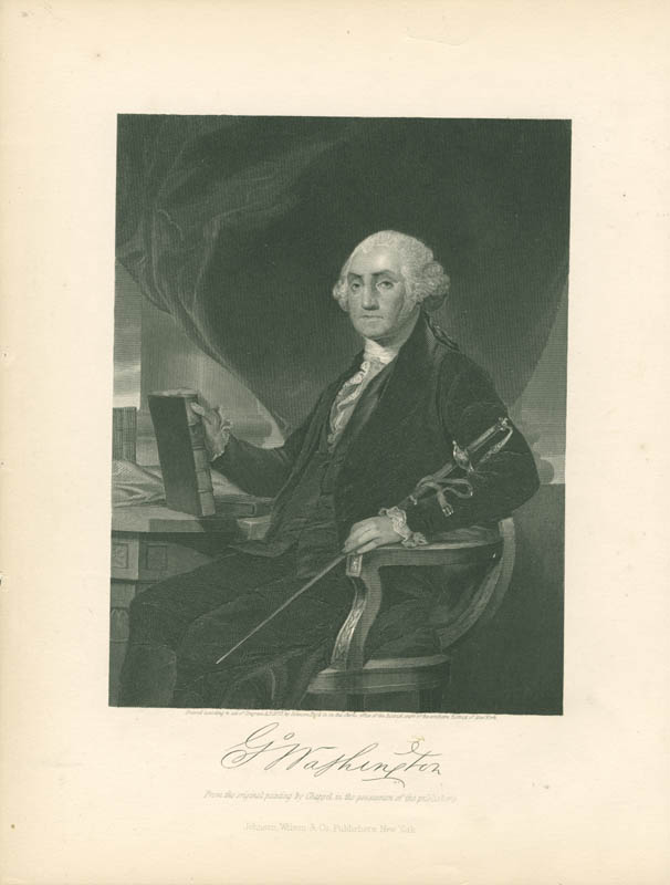 Image 1 for President George Washington - Engraving Unsigned - HFSID 3007213