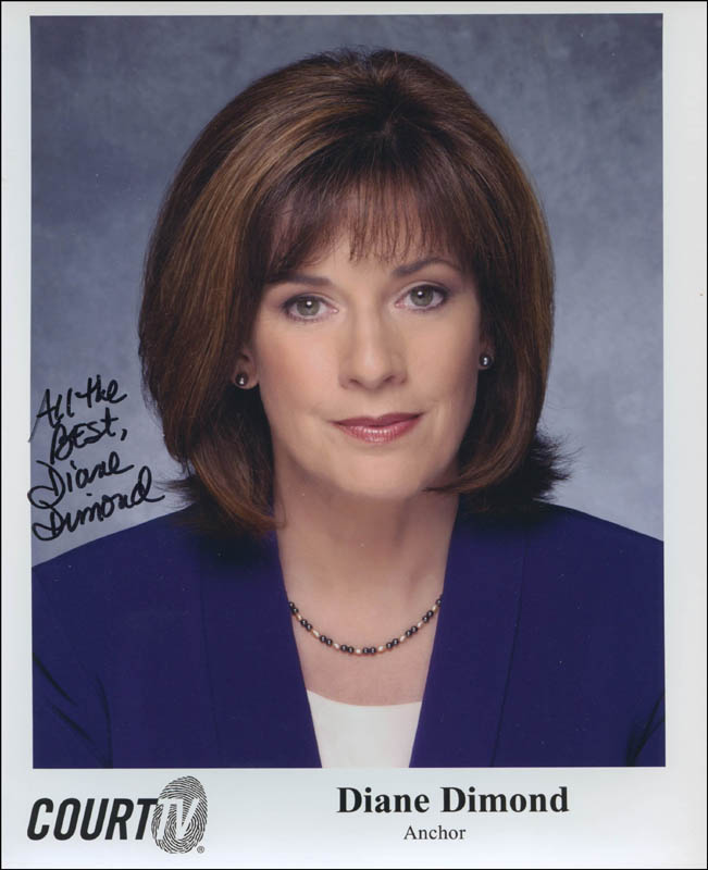 Image 1 for Diane Dimond - Autographed Signed Photograph - HFSID 301295