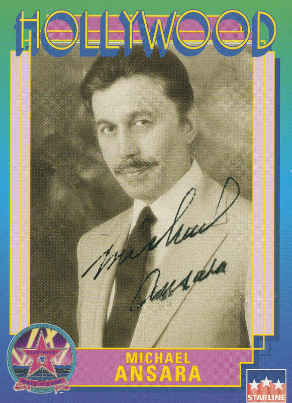 Image 1 for Michael Ansara - Trading/Sports Card Signed - HFSID 301399